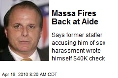 Massa Fires Back at Aide