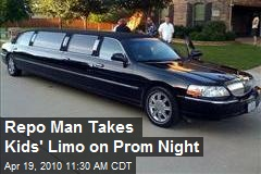 Repo Man Takes Kids' Limo on Prom Night
