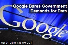 Google Bares Government Demands for Data