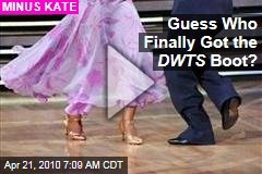 Guess Who Finally Got the DWTS Boot?