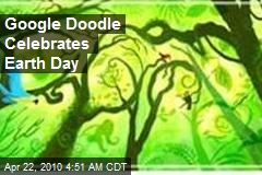 Google Doodle Celebrates Earth Day