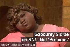 Gabourey Sidibe on SNL: Not 'Precious'