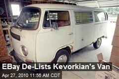 EBay De-Lists Kevorkian's Van