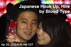 Japanese Hook Up, Hire by Blood Type