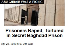 Prisoners Raped, Tortured in Secret Baghdad Prison