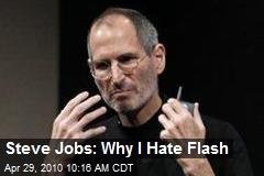 Steve Jobs: Why I Hate Flash