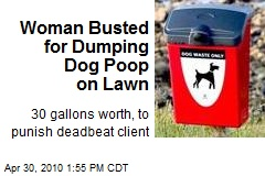 Deadbeat Clients Stink: Dog Poop Cleaner-Upper