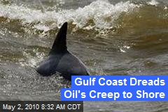 Gulf Coast Dreads Oil's Creep to Shore