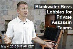 Blackwater Boss Lobbies for Private Assassin Teams