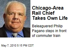 Chicago-Area Rail Chief Takes Own Life