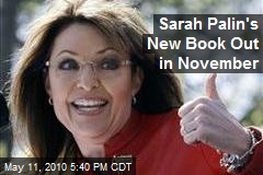 Sarah Palin's New Book Out in November