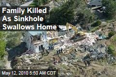 Family Killed As Sinkhole Swallows Home