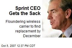 Sprint CEO Gets the Sack