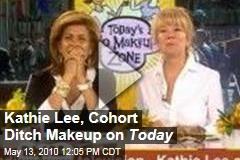 Kathie Lee, Cohort Ditch Makeup on Today