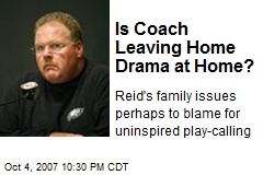 Is Coach Leaving Home Drama at Home?