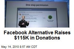Facebook Alternative Raises $115K in Donations