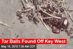 Tar Balls Found Off Key West