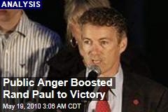 Public Anger Boosted Rand Paul to Victory