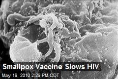Smallpox Vaccine Slows HIV