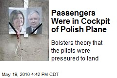 Passengers Were in Cockpit of Polish Plane