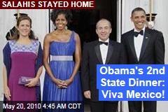 Obama's 2nd State Dinner: Viva Mexico!