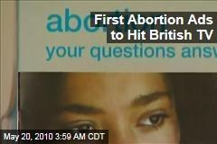 First Abortion Ads to Hit British TV