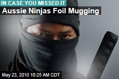 Aussie Ninjas Foil Mugging