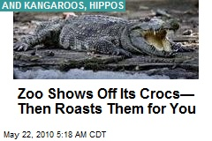 Zoo Shows Off Its Crocs— Then Roasts Them for You