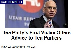 Tea Party's First Victim Offers Advice to Tea Partiers