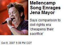 Mellencamp Song Enrages Jena Mayor