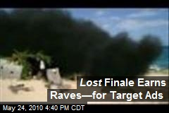 Lost Finale Earns Raves—for Target Ads