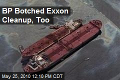 BP Botched Exxon Cleanup, Too