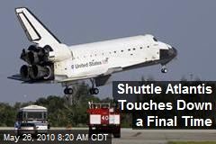 Shuttle Atlantis Touches Down a Final Time
