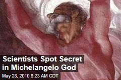 Scientists Spot Secret in Michelangelo God