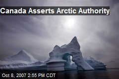 Canada Asserts Arctic Authority