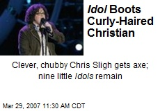Idol Boots Curly-Haired Christian