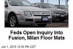 Feds Open Inquiry Into Fusion, Milan Floor Mats
