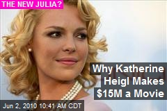 Why Katherine Heigl Makes $15M a Movie