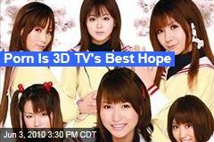 Porn Is 3-D TV's Best Hope