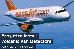 Easyjet to Install Volcanic Ash Detectors