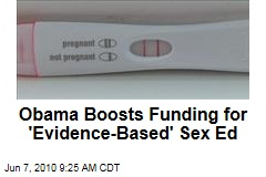 Obama Boosts Funding for 'Evidence-Based' Sex Ed