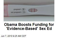 Obama Boosts Funding for 'Evidence-Based' Sex Ed