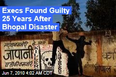 Execs found Guilty 25 Years After Bhopal Disaster