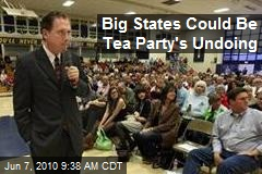 Big States Could Be Tea Party's Undoing