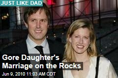 Gore Daughter's Marriage on the Rocks