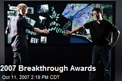 2007 Breakthrough Awards