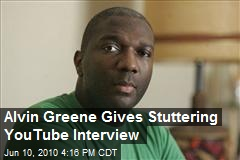 Alvin Greene Gives Stuttering YouTube Interview