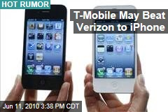 T-Mobile May Beat Verizon to iPhone