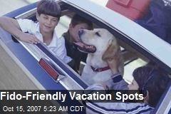 Fido-Friendly Vacation Spots