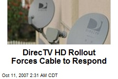 DirecTV HD Rollout Forces Cable to Respond